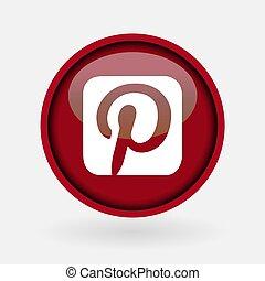 -, colección, popular, logotipo, impreso, marzo, blanco, paper:, 2, pavo, 2019:, estambul, medios, social, pinterest.