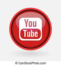 -, collezione, popolare, logotipo, stampato, marzo, bianco, media, paper:, 2, tacchino, 2019:, istanbul, youtube., sociale