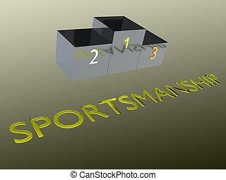 -, concept, sportivité, behavioral