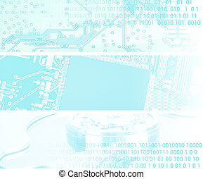 -, concept, technologie, microchip, achtergrond