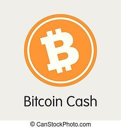 -, currency., bitcoin, virtuel, espèces, icône