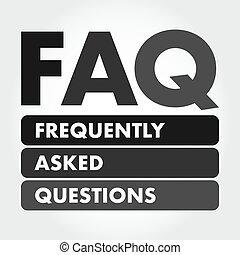 -, demandé, acronyme, frequently, faq, questions
