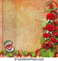 Tarjeta De Felicitación O Invitación Para El Día De La Madre