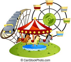 theme park stock illustrations 4 602 theme park clip art images and rh canstockphoto com theme park clipart free theme park rides clipart