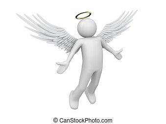 Guardian angel illustrations and clip art 1 172 guardian - Dessin d ange gardien ...