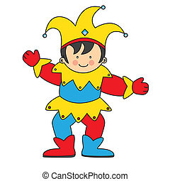jester illustrations and stock art 5 908 jester illustration rh canstockphoto com jester hat clipart free court jester clipart