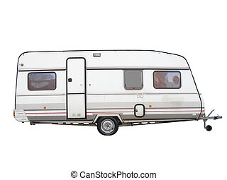 Camping Trailer Illustrations And Clipart 4394