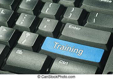 -, entrenamiento, concepto, educación