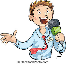 reporter illustrations and clip art 8 070 reporter royalty free rh canstockphoto com journalist writing clipart journalist animated clipart