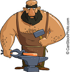 blacksmith illustrations and stock art 2 624 blacksmith rh canstockphoto com blacksmith tools clipart blacksmith clip art