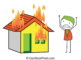 Burning house Illustrations and Clip Art. 5,692 Burning ...