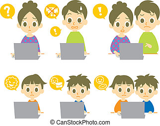 Home computer Vector Clipart Illustrations. 36,106 Home ...