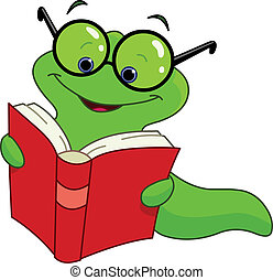 bookworm vector clipart eps images 606 bookworm clip art vector rh canstockphoto com au