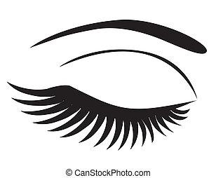 eyelash clip art vector graphics 7 645 eyelash eps clipart vector rh canstockphoto com eps clipart of texas eps clip art