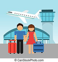 Airport Illustrations And Clipart 45557 Royalty Free