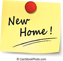 New Home Vector Clipart EPS Images New Home Clip Art - New home clipart