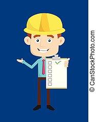-, esposizione, architetto, ingegnere, costruttore, lista