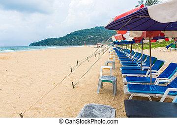 -, feriado, seu, turistas, gastar, 7, 2014, phuket, junho, 7...