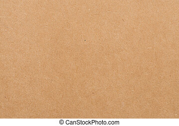 -, fondo., papel, textura, hoja, kraft, marrón