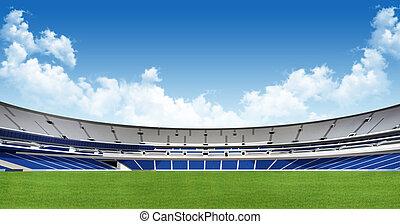 -, fondo, stadio, sport