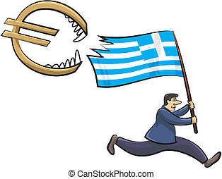 -, görög, fenyegetés, z, krízis, euro