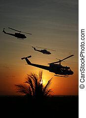 -, guerre vietnam, récréation, artiste