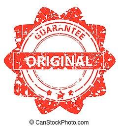 -, gummi, original, briefmarke