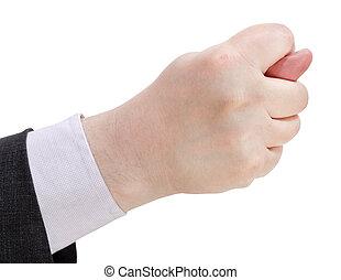 -, haut, main, figue, fin, signe, côté, geste, vue