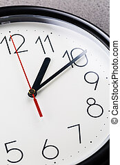-, horloge, arrière, temps, dos, tourner, virage, concept