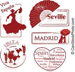 -ibiza,  -,  espana-, espagne,  Madrid