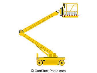 Boom Lift Vector Clipart And Illustrations 160