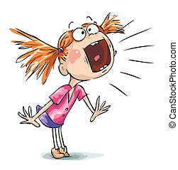 screaming illustrations and clipart 20 430 screaming royalty free rh canstockphoto com girl yelling clipart yelling pictures clip art