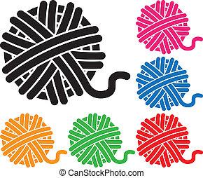 yarn illustrations and stock art 6 598 yarn illustration graphics rh canstockphoto com