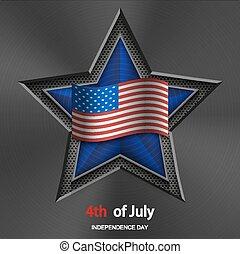 Vector feliz 4 de julio. día de la independencia de ee.uu. templa para el  cuarto de julio. Feliz 4 de julio. día de la | CanStock