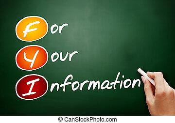 -, información, su, siglas, fyi