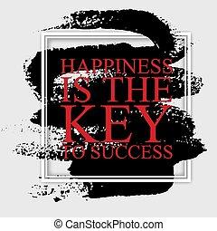 -, inspirationnel, clã©, reussite, citation, carrière, bonheur, motivation