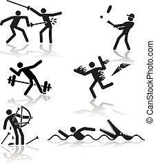 -, jeux, olympique, humour, 2