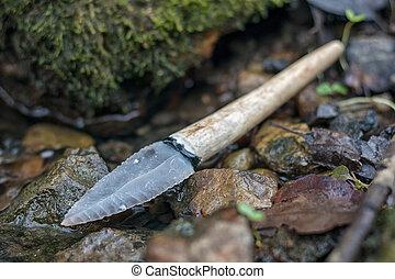 -, křemen, náčiní, druh, doba, kámen, nůž