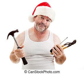 -, kerstmis, vergadering, noodzakelijk
