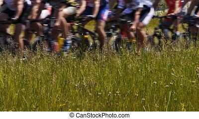 -, koła, rower, marathon., hd