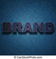 -, lettres, fond, marque, concept, textile