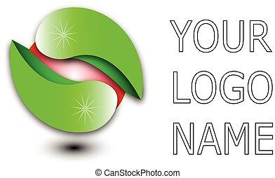 -, logotipo, vettore, disegno