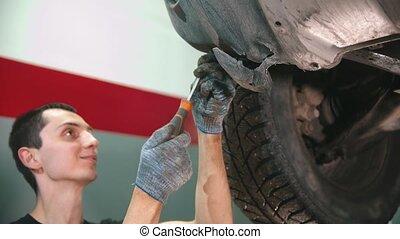 -, magasin, voiture, fonctionnement, réparation, tournevis, ...