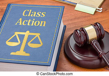 -, marteau, livre, action, droit & loi, classe