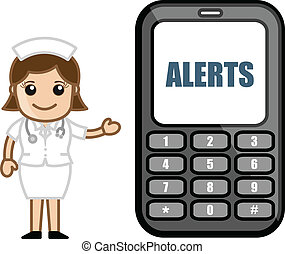 -, medicinsk, alerts, sms, abonnera