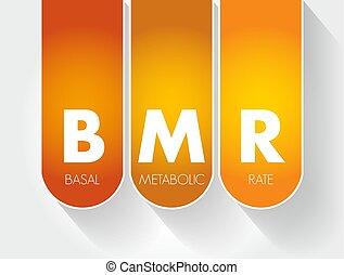 -, metabolic, tasa, siglas, bmr, basal