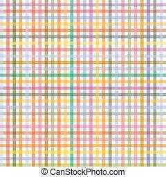 -, modello, checkered, endlessly, colorato
