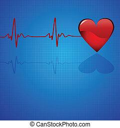 -, monde médical, eps10, fond