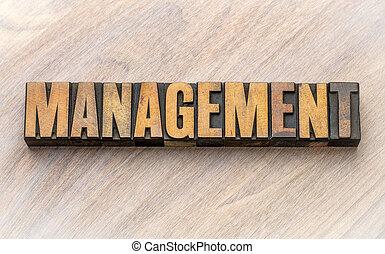 -, mot, gestion, bois, asbtract, type