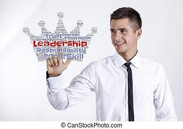 -, obchodník, vzkaz, vůdcovství, mračno, mládě, dojemný
